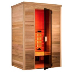 Sauna infrared Multiwave 150-3 seater Holl's