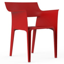 Armchair Pedrera Vondom Red