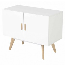Furniture down oak and lacquer white 2 doors KosyForm