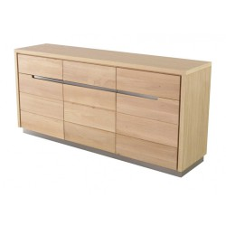 Buffet oak 3 door 3 drawer KosyForm