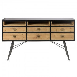 Mobili bassi a Pine Mountain High KosyForm stile industriale