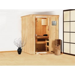 Steam sauna angular traditional Finnish 2-4 places Ulla Prestige - exclusive VerySpas