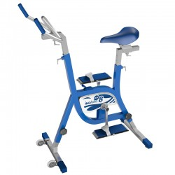 Aquabike de piscine Waterflex Inobike 8 Air Aluminium