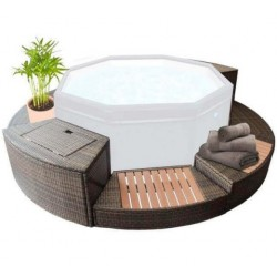 Furniture Kit 5 modules for Spa Octopus 4 to 6 Places NetSpa