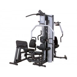 With press Body-Solid G9S Home Gym weight training apparatus